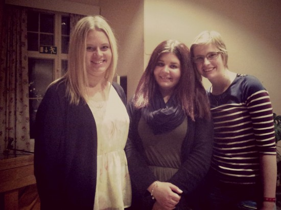 Teammedlemmarna Evelina; Linnéa & Simone