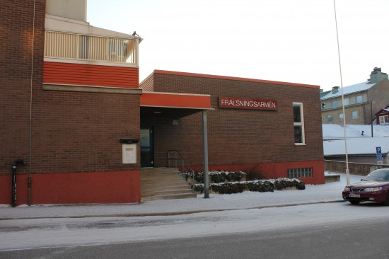 Frälsningsarméns lokaler i Luleå