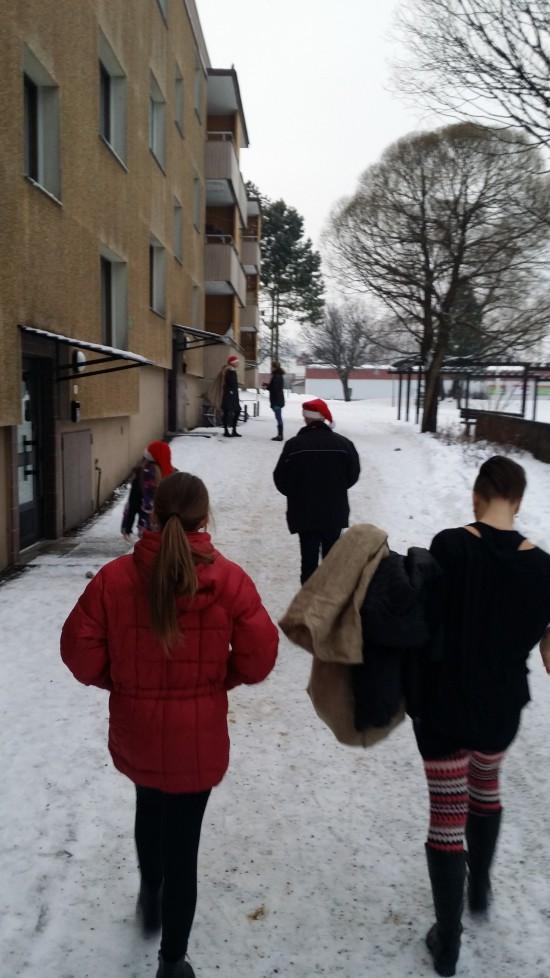 Mellansel jul asyl flyktingar