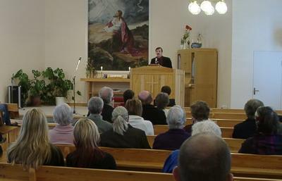 Christer Westman predikade