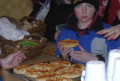 Första lunchen (Piroger)