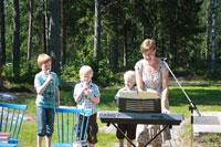 Sång och musik fick vi av mor med söner
