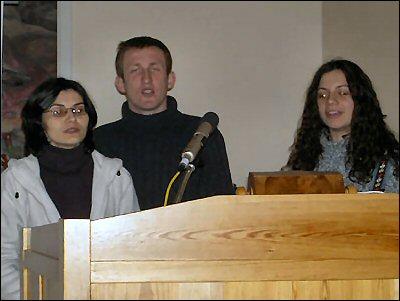Team från Bulgarien berättar bl.a. om sitt evangeliserande. Mycket Intressant!