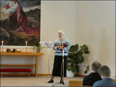 Pastor Maud talar