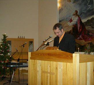 Pastor Lennart Holmner