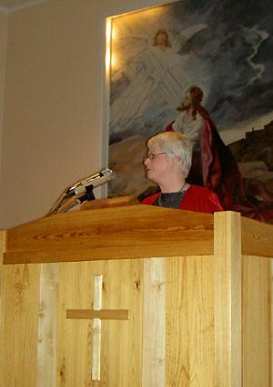 Pastor Maud Cajdert