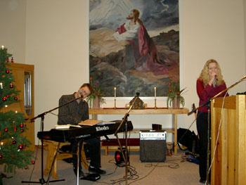 Jonas och Karin sjunger