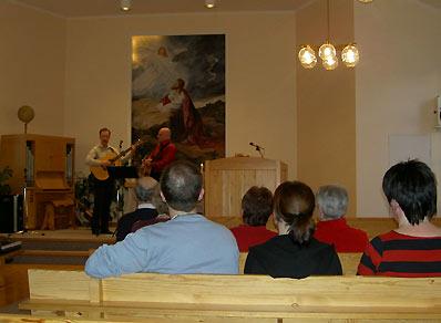 Leon Viberg, Kjell Nyberg sjunger